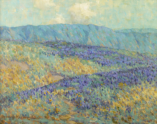 Art Prints of Blue Flowers by Granville Redmond