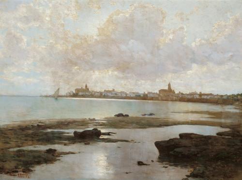 Art Prints of Coastal Landscape by Guillermo Gomez Gil