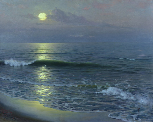 Art Prints of Moonrise by Guillermo Gomez Gil