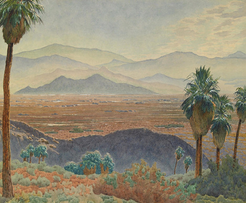 Art Prints of Above Tahquitz Canyon, Palm Springs by Gunnar Widforss