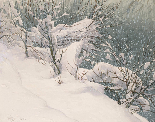 Art Prints of Christmas in Yosemite by Gunnar Widforss