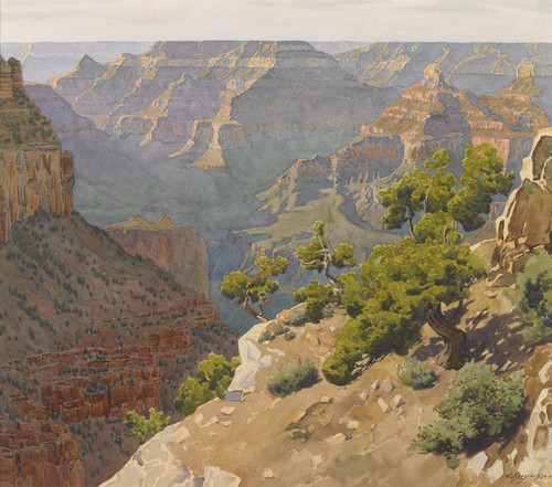 Art Prints of Grand Canyon of Arizona by Gunnar Widforss