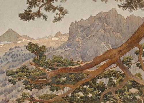 Art Prints of High Sierra by Gunnar Widforss