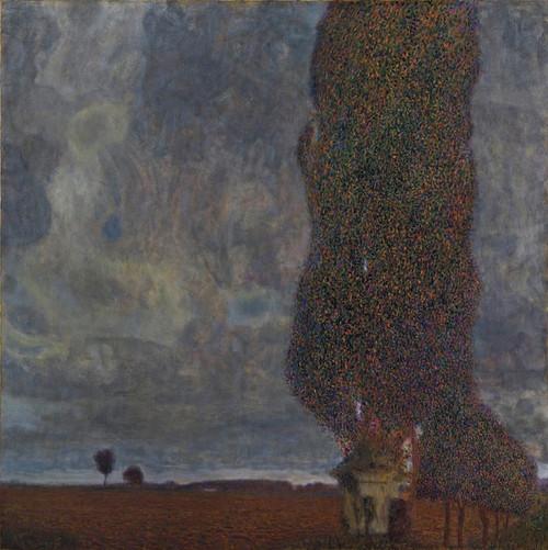 Art Prints of Approaching Thunderstorm, the Large Poplar II by Gustav Klimt