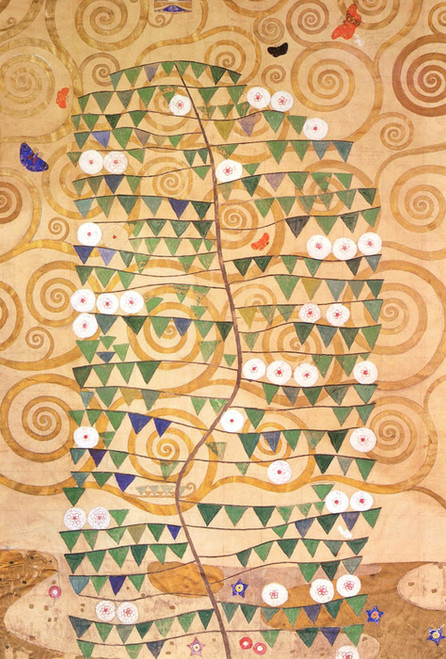 Art Prints of Cartoon for the Frieze of the Villa Stoclet by Gustav Klimt
