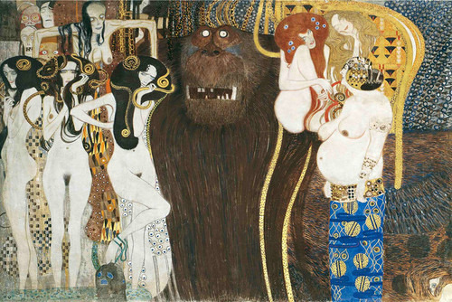 Art Prints of Beethoven Frieze by Gustav Klimt