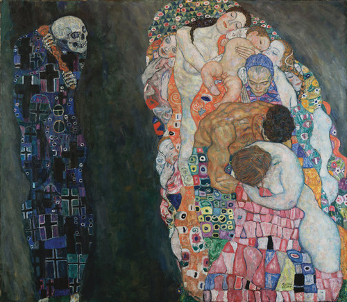 Art Prints of Death and Life by Gustav Klimt