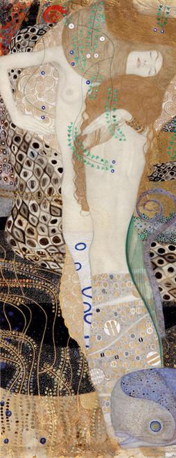 Art Prints of Friends or Water Serpents by Gustav Klimt