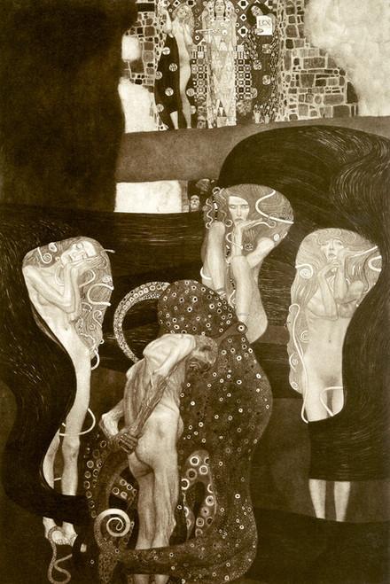Art Prints of Jurisprudence by Gustav Klimt