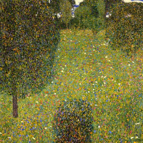 Art Prints of Meadow of Flowers by Gustav Klimt
