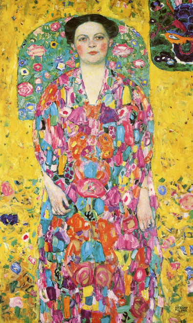 Art Prints of Portrait of Eugenia Primavesi by Gustav Klimt