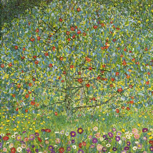 Art Prints of The Apple Tree by Gustav Klimt