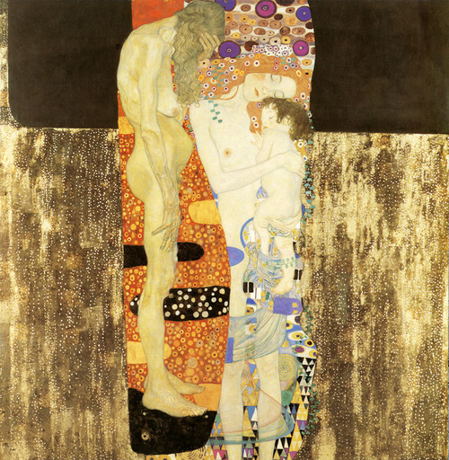 Art Prints of The Three Ages of Woman 1905 by Gustav Klimt