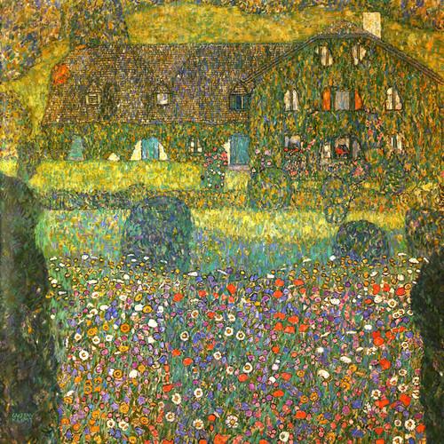 Art Prints of Villa on the Attersee 1914 by Gustav Klimt