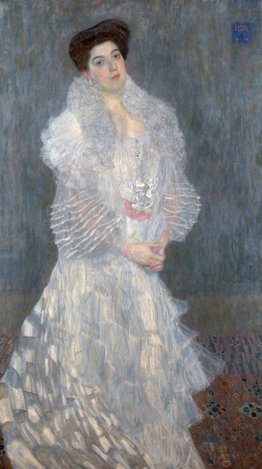 Art Prints of Portrait of Hermine Gallia by Gustav Klimt