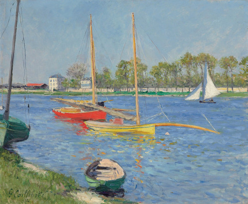 Art Prints of The Seine at Argenteuil by Gustave Caillebotte
