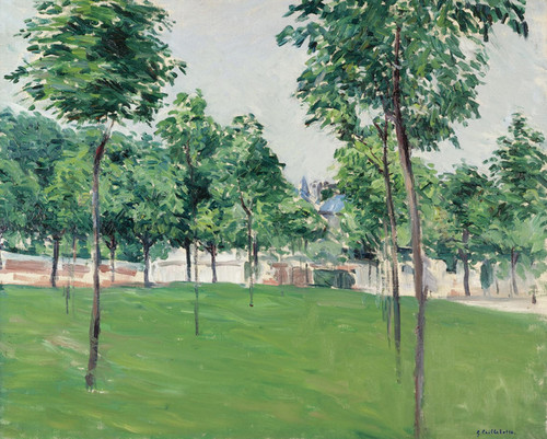 Art Prints of Promenade Argenteuil by Gustave Caillebotte