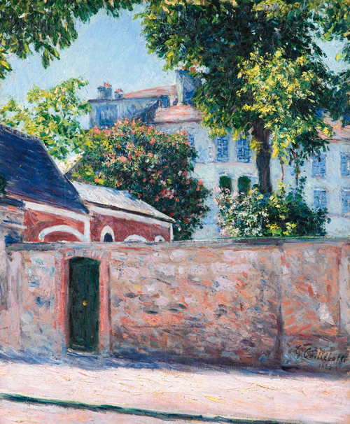 Art Prints of Houses in Argenteuil by Gustave Caillebotte