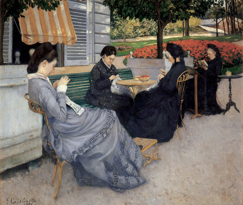 Art Prints of Portraits in the Countryside by Gustave Caillebotte