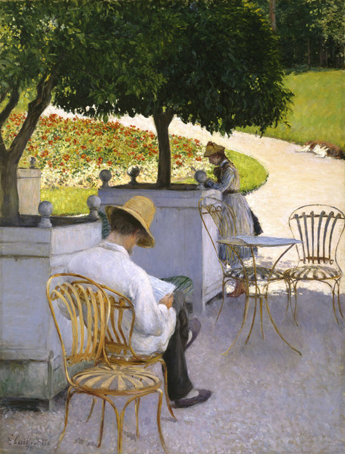 Art Prints of The Orange Trees by Gustave Caillebotte