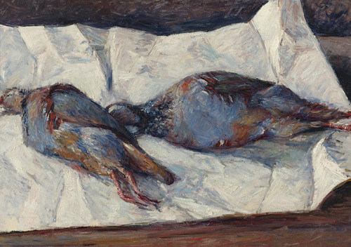 Art Prints of Two Partridges by Gustave Caillebotte