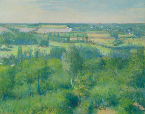 Art Prints of Yerres Valley by Gustave Caillebotte