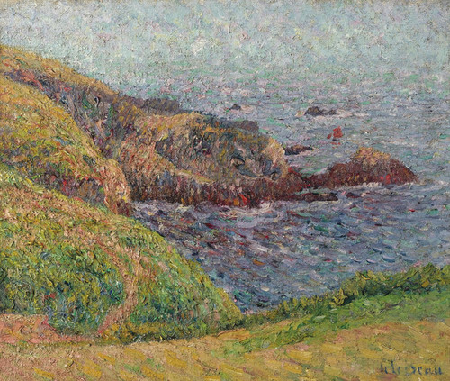 Art Prints of An Arm of the Sea by Gustave Loiseau