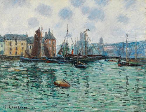 Art Prints of Port of Fecamp by Gustave Loiseau