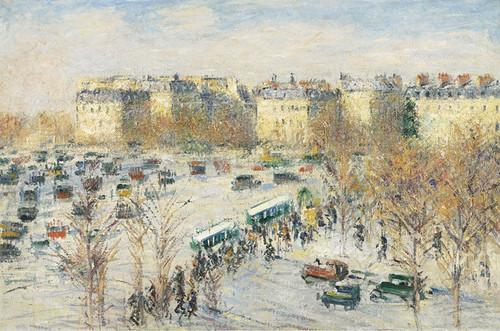 Art Prints of Stars Plaza by Gustave Loiseau