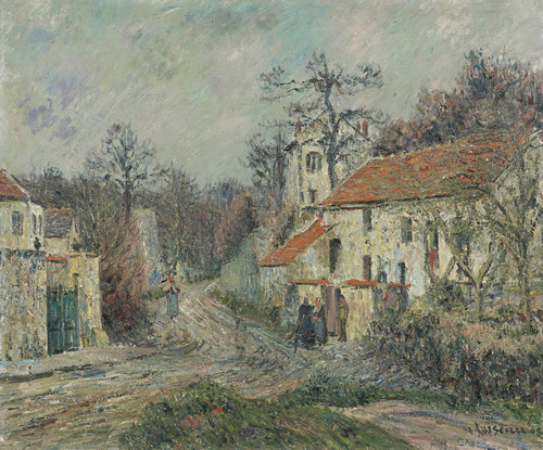 Art Prints of Winter Landscape, Chaponval by Gustave Loiseau