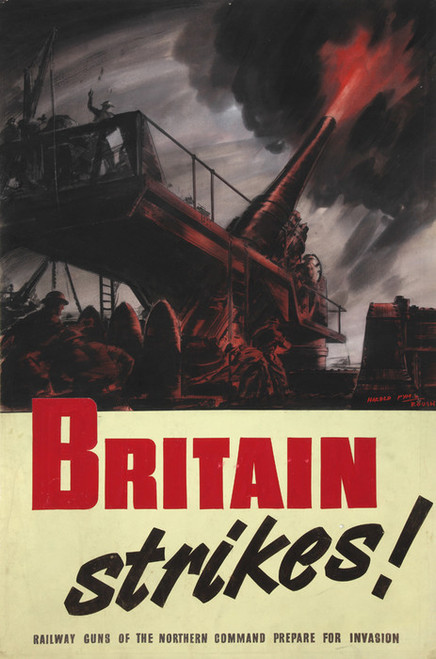 Art Prints of Britain Strikes by Harold Pym