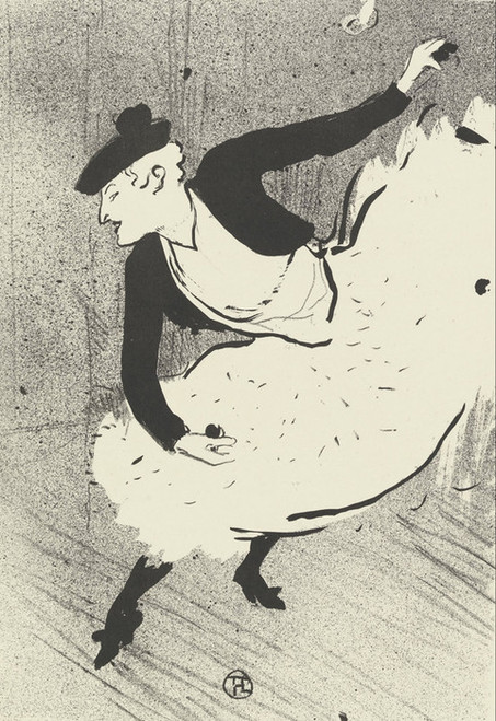 Art Prints of Edmee Lescot by Henri de Toulouse-Lautrec