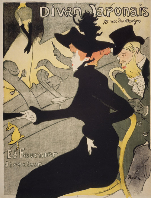 Art Prints of Divan Japonais by Henri de Toulouse-Lautrec