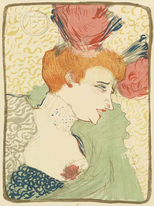 Art Prints of Mademoiselle Marcelle Lender by Henri de Toulouse-Lautrec