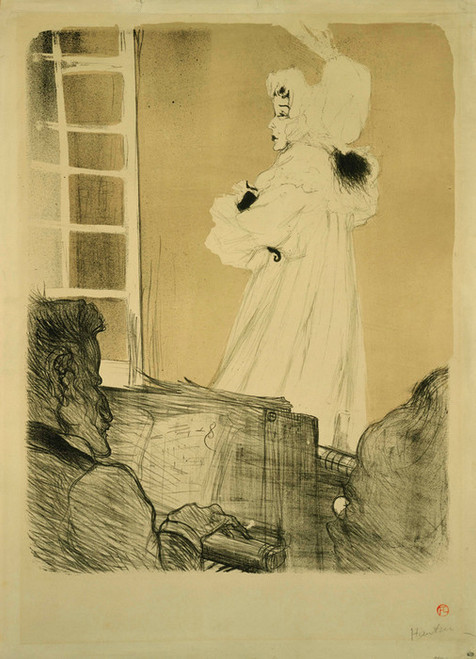 Art Prints of Miss May Belfort by Henri de Toulouse-Lautrec