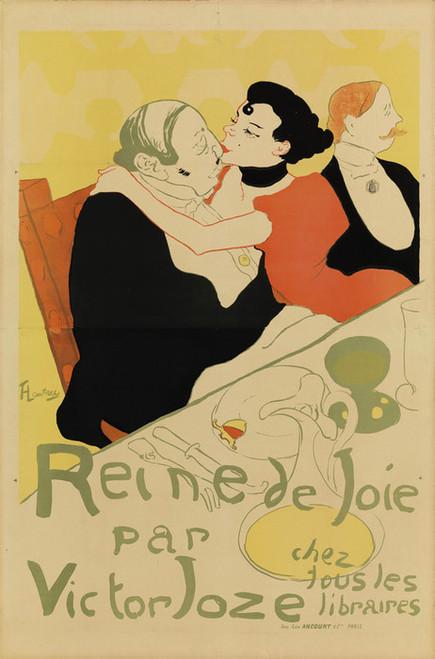 Art Prints of Reine De Joie by Henri de Toulouse-Lautrec