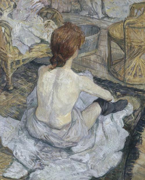 Art Prints of Rousse by Henri de Toulouse-Lautrec