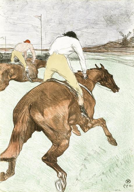 Art Prints of The Jockey by Henri de Toulouse-Lautrec