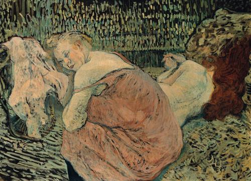 Art Prints of Two Friends by Henri de Toulouse-Lautrec