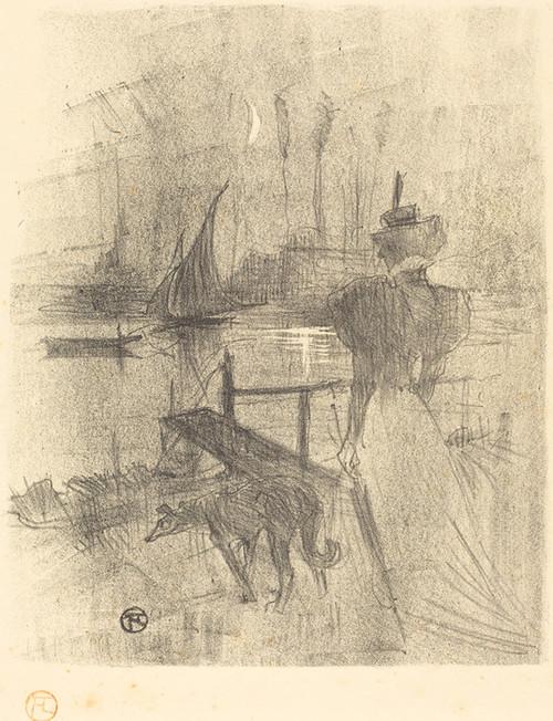 Art Prints of Adieu, 1895 by Henri de Toulouse-Lautrec