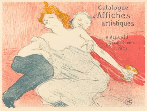 Art Prints of Debauchery, 1896 by Henri de Toulouse-Lautrec