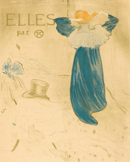 Art Prints of Frontispiece by Henri de Toulouse-Lautrec