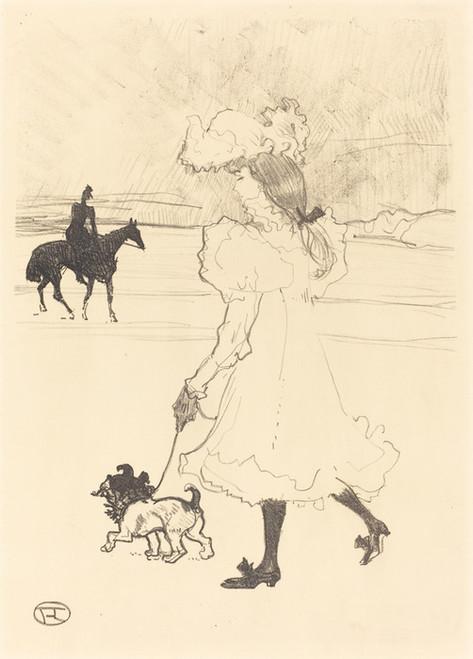 Art Prints of In the Woods, 1899 by Henri de Toulouse-Lautrec