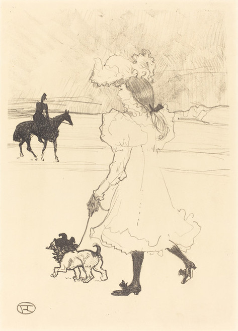 Art Prints of In the Woods, 1899 by Henri de Toulouse-Lautrec
