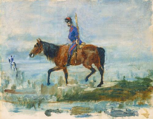 Art Prints of Hussars by Henri de Toulouse-Lautrec