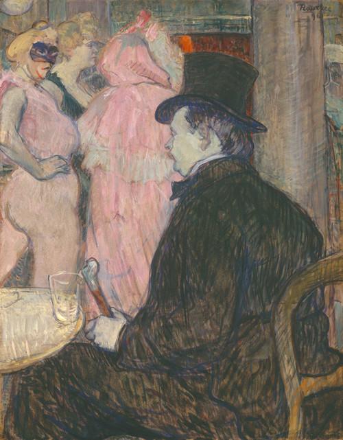 Art Prints of Maxime Dethomas, 1896 by Henri de Toulouse-Lautrec