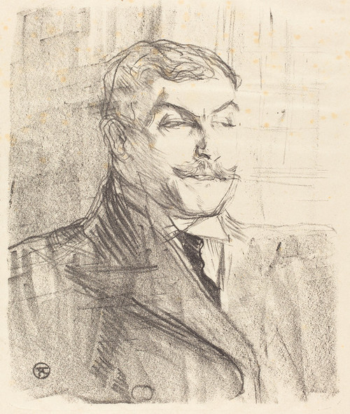 Art Prints of Lucien Guitry, 1896 by Henri de Toulouse-Lautrec