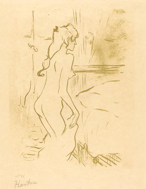 Art Prints of Study of a Woman, 1893 by Henri de Toulouse-Lautrec