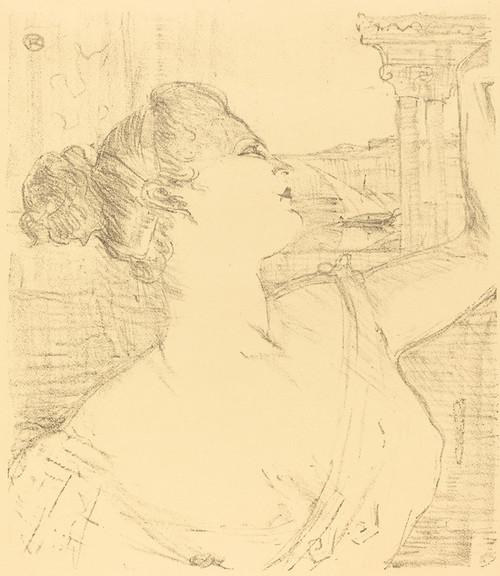 Art Prints of Subra of the Opera, 1896 by Henri de Toulouse-Lautrec