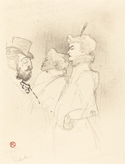 Art Prints of Why Not Once Is Not A Habit by Henri de Toulouse-Lautrec
